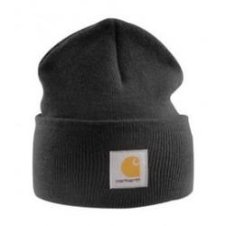 Carhartt - 35481015373 - Carhartt Black 100% Acrylic Rib-Knit Fabric Watch Hat, ( Each )