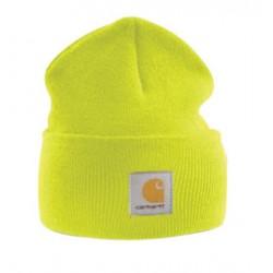 Carhartt - 35481371035 - Carhartt Bright Lime 100% Acrylic Rib-Knit Fabric Watch Hat, ( Each )