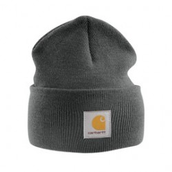 Carhartt - 35481167102 - Carhartt Coal Heater 100% Acrylic Rib-Knit Fabric Watch Hat, ( Each )