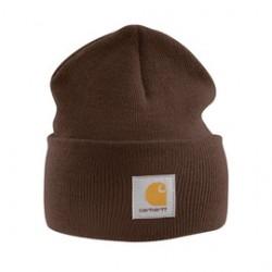 Carhartt - 35481048173 - Carhartt Dark Brown 100% Acrylic Rib-Knit Fabric Watch Hat, ( Each )