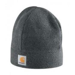 Carhartt - 35481495748 - Carhartt Charcoal Heather 100% Polyester Fleece Beanie Hat, ( Each )
