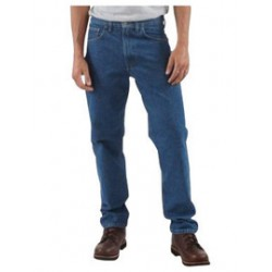 """Carhartt - 35481228377 - Carhartt Size 44"""" X 30"""" Darkstone 15 Ounce Denim Tapered Leg Traditional Fit Jeans With Zipper Front Closure, And, ( Each )"""