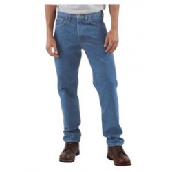 Carhartt - 35481190162 - Carhartt Size 42 X 32 Stonewash 15 Ounce Denim Tapered Leg Traditional Fit Jeans With Zipper Front Closure, And, ( Each )