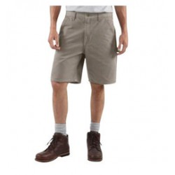 Carhartt - 35481045363 - Carhartt Size 33 Desert 12 Ounce Washed Duck Loose Original Fit Shorts With Zipper Closure And Hammer Loop, ( Each )