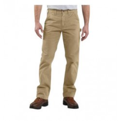 "Carhartt - 35481823480 - Carhartt Size 44"" X 30"" Field Khaki 9.25 Ounce Twill Straight Leg Relaxed Fit Dungaree With Zipper Front Closure, Multiple tool and utility pockets And Left-leg hammer loop, ( Each )"