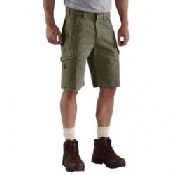 """Carhartt - 35481790225 - Carhartt Size 46"""" Moss 9.25 Ounce Ripstop Relaxed Fit Shorts With Zipper Closure And Cordura Lined Back Pockets, ( Each )"""