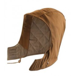 Carhartt - 35481476860 - Carhartt One Size Fits Most Carhartt Brown Duck Flame-Resistant Hood With Quilted Lining And Hook And Loop Closure, ( Each )