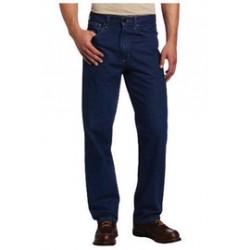 "Carhartt - 35481708640 - Carhartt Size 33"" X 30"" Denim Straight Leg Flame-Resistant Jeans With Front Zipper Closure, ( Each )"