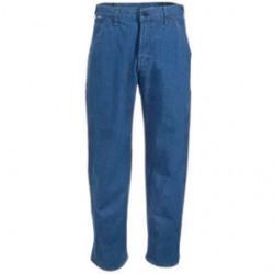 Carhartt - 35481539824 - Carhartt Size 34 X 32 Denim Denim Straight Leg Flame-Resistant Jeans With Front Zipper Closure, ( Each )
