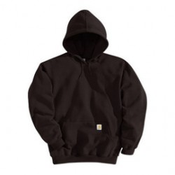 Carhartt - 35481668753 - Carhartt 2X Regular Dark Brown Fleece Lined 10.5 Ounce Medium Weight Cotton Polyester Hooded Pullover Sweatshirt Front Hand-Warmer Pockets, Attached Hood With Draw Cord, Rib-Knit Cuffs And Waistband, ( Each )