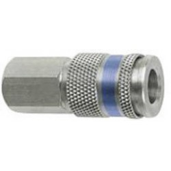 """Dynabrade - 98261 - Dynabrade 3/8"""" NPT Female Coupler (For Use With Dynafile Abrasive Belt Tool), ( Each )"""