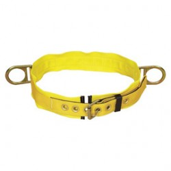 "3M - 1000022 - 3M DBI-SALA Small 1 3/4"" Polyester Web Body Belt With Tongue Buckle, Side D-Ring And 3"" Back Pad, ( Each )"