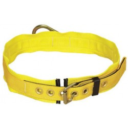 "3M - 1000027 - 3M DBI-SALA 3X Delta 1 3/4"" Polyester Web Body Belt With Side D-Ring, Tongue Buckle And 3"" Hip Pad, ( Each )"