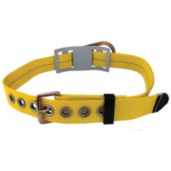 """3M - 1000162 - 3M DBI-SALA Small 32"""" - 40"""" Delta 1 3/4"""" Polyester Web Body Belt With Floating D-Ring And Tongue Buckle (Without Hip Pad), ( Each )"""