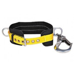3M - 1000564 - 3M DBI-SALA Large Pompier Body Belt With Side D-Ring, Swiveling Hook And Tongue Buckle, ( Each )