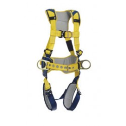 3M - 1100523 - 3M DBI-SALA X-Large Delta Construction Style Positioning/Climbing Harness With Back, Front And Side D-rings, Belt With Pad, Quick Connect Buckle Leg And Chest Straps, ( Each )