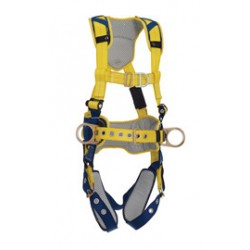 3M - 1100635 - 3M DBI-SALA X-Large Delta Construction Style Positioning/Climbing Harness With Back, Front And Side D-Rings, Belt With Pad, Tongue Buckle Leg Straps And Comfort Padding, ( Each )