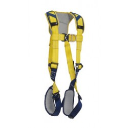 3M - 1100639 - 3M DBI-SALA X-Large Delta Vest Style Climbing Harness With Back And Front D-Rings, Quick Connect Buckle Leg And Chest Straps And Comfort Padding, ( Each )