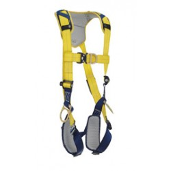 3M - 1100683 - 3M DBI-SALA X-Large Delta Vest Style Positioning/Climbing Harness With Back, Front And Side D-Rings, Quick Connect Buckle Leg And Chest Straps And Comfort Padding, ( Each )