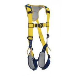 3M - 1100824 - 3M DBI-SALA X-Large Delta Vest Style Positioning Harness With Back And Side D-Rings, Quick Connect Buckle Leg And Chest Straps And Comfort Padding, ( Each )