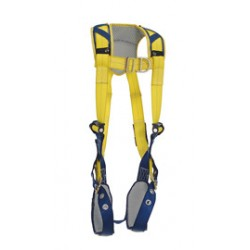 3M - 1100837 - 3M DBI-SALA X-Large Delta Vest Style Climbing Harness With Back And Front D-Rings, Tongue Buckle Leg Straps And Comfort Padding, ( Each )
