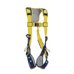 3M - 1100848 - 3M DBI-SALA X-Large Delta Vest Style Positioning Harness With Back And Side D-Rings, Tongue Buckle Leg Straps And Comfort Padding, ( Each )
