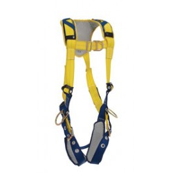 3M - 1100884 - 3M DBI-SALA X-Large Delta Vest Style Positioning/Climbing Harness With Back, Front And Side D-Rings, Tongue Buckle Leg Straps And Comfort Padding, ( Each )