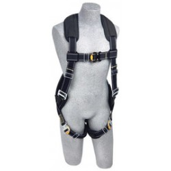3M - 1100940 - 3M DBI-SALA Medium ExoFit XP Arc Flash Flame Resistant Full Body/Vest Style Harness With Back D-Ring, Comfort Padding, Leather Insulator And Quick Connect Chest And Leg Strap Buckle, ( Each )