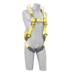 3M - 1101781 - 3M DBI-SALA Universal Delta No-Tangle Full Body/Vest Style Harness With Back And Shoulder D-Ring And Pass-Thru Leg Strap Buckle, ( Each )