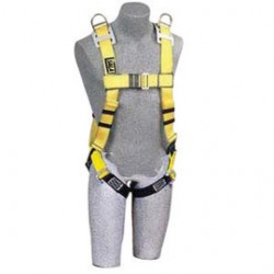 3M - 1101800 - 3M DBI-SALA Small Construction/Cross Over/Full Body Style Harness With Hip Pad, ( Each )