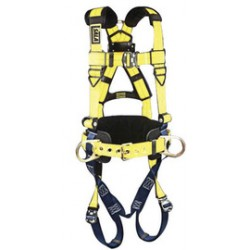 3M - 1102004 - 3M DBI-SALA Large Delta Arc Flash No-Tangle Full Body Style Harness With Back And (2) Front D-Ring And Pass-Thru Buckles, ( Each )
