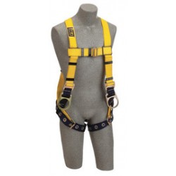 3M - 1102028 - 3M DBI-SALA X-Large Delta Positioning Construction Style Harness With Back And Side D-Rings, Tongue Buckle Leg Strap And Loops For Belt, ( Each )