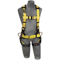 3M - 1102200 - 3M DBI-SALA X-Small Delta II No-Tangle Construction/Full Body/Vest Style Harness With Back And Side D-Ring, Tongue Leg Strap Buckle And Sewn-in Back Pad, ( Each )
