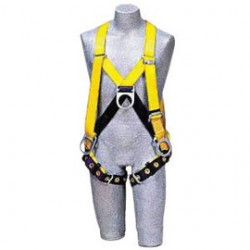 3M - 1102536 - 3M DBI-SALA 3X Delta II Full Body Style Harness With Back Pad, Belt And D-Ring, ( Each )
