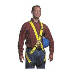 Capital Safety - 1102903 - DBI/SALA Large Construction/Cross Over/Full Body Style Harness With Pass Thru Leg Strap Buckle, Foam Hip Pad And Belt, ( Each )