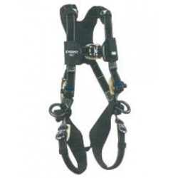 3M - 1103088 - 3M DBI-SALA X-Large ExoFit NEX Arc Flash Full Body/Vest Style Harness With Tech-Lite PVC Coated Aluminum Back D-Ring, Duo-Lok Quick Connect Chest And Leg Strap Buckle, Leather Insulator, Belt Loop And Comfort Padding, ( Each )