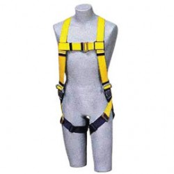 Capital Safety - 1103321 - DBI/SALA Universal Delta No-Tangle Full Body/Vest Style Harness With Back D-Ring, Quick Connect Chest And Pass-Thru Leg Strap Buckle And Comfort Padding, ( Each )
