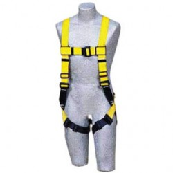 3M - 1104725 - 3M DBI-SALA Universal Delta II No-Tangle Full Body/Vest Style Harness With Back D-Ring, Quick Connect Chest And Pass-Thru Leg Strap Buckle And Comfort Padding, ( Each )