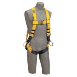 3M - 1105400 - 3M DBI-SALA X-Large Delta Positioning Vest Style Harness With Back And Side D-Rings And Parachute Buckle Leg Straps, ( Each )