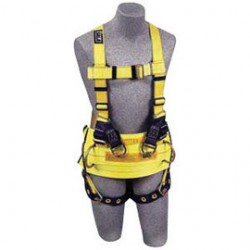 3M - 1105827 - 3M DBI-SALA Medium Delta II Derrick Style Harness With Rear And Lifting D-Rings, ( Each )
