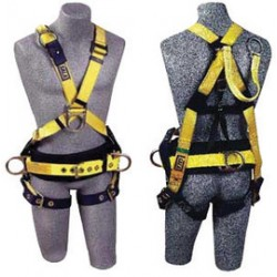 3M - 1106380 - 3M DBI-SALA X-Large Delta II Crossover Style Harness With Back D-Ring With 18 Inch Extension, Adjustable Front D-Ring, Body Belt, Back D-Ring And Foam Back Pad, Side D-Rings And Tongue Buckle Legs Straps, ( Each )
