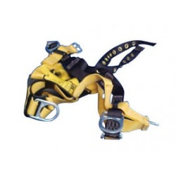 3M - 1107814 - 3M DBI-SALA 2X Delta II Construction/Full Body Style Harness With Front And Back (2) D-Ring, Tongue Leg Strap Buckle And Pass-Thru Chest, ( Each )