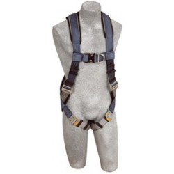 3M - 1108533 - 3M DBI-SALA 2X ExoFit Full Body/Vest Style Harness With Back And Front D-Ring, Quick Connect Chest And Leg Strap Buckle, Loops For Body Belt And Built-In Comfort Padding, ( Each )