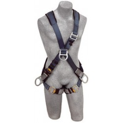 Capital Safety - 1108700 - DBI/SALA Small Exofit Positioning/Climbing Cross Over Style Harness With Back, Front And Side D-Rings, Quick Connect Buckle Leg Strap And Built-In Comfort Padding, ( Each )
