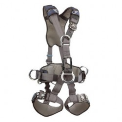 3M - 1108728 - 3M DBI-SALA X-Large ExoFit Full Body Style Harness With D-Ring And Tongue Buckle, ( Each )