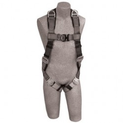 3M - 1108753 - 3M DBI-SALA Large ExoFit Full Body/Vest Style Harness With Back And Shoulder D-Ring, Quick Connect Chest And Leg Strap Buckle, Loops For Body Belt And Built-In Comfort Padding, ( Each )