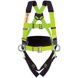 3M - 1109108 - 3M DBI-SALA Universal Delta No-Tangle Full Body/Vest Style Harness With Stainless Steel Back D-Ring, Quick Connect Chest And Pass-Thru Leg Strap Buckle And Comfort Padding, ( Each )
