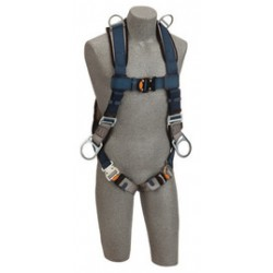 Capital Safety - 1109229 - DBI/SALA Large Exofit Positioning/Retrieval Full Body/Vest StyleHarness With Back, Side And Shoulder D-Rings, Quick Connect Buckles And Loops For Belt, ( Each )