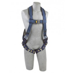 3M - 1109357 - 3M DBI-SALA Large ExoFit Full Body/Vest Style Harness With Back D-Ring, Tongue Leg Strap Buckle, Quick Connect Chest Strap Buckle, Loops For Body Belt And Built-In Comfort Padding, ( Each )