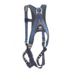3M - 1109359 - 3M DBI-SALA 2X ExoFit Vest Style Multi-Purpose Harness With Back D-Ring, Built-In Shoulder, Back And Leg Comfort Padding, Quick Connect Chest Strap And Tongue Buckle Leg Straps, ( Each )